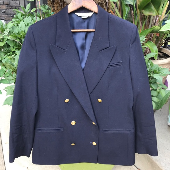 Austin Reed Jackets Coats Austin Reed Vintage Double Breasted Wool Blazer Poshmark